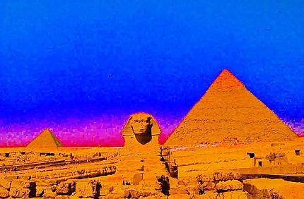 Son et lumière sur le Sphinx