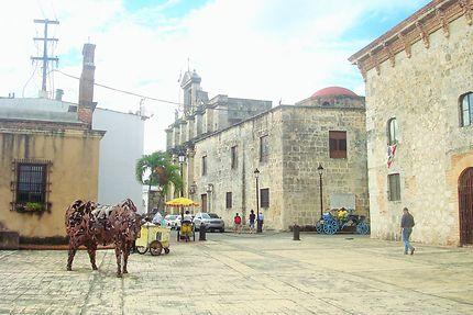 La place d'arme de Santo Domingo