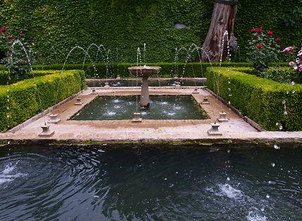 Jardins de l'Alhambra Grenade