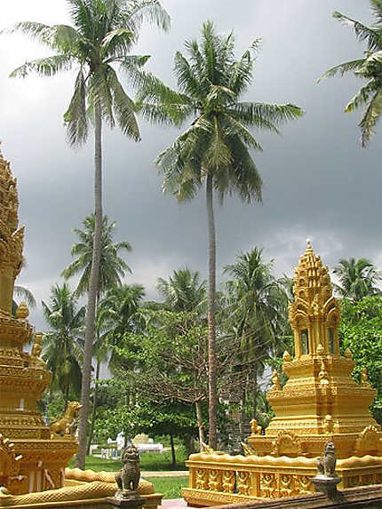 Temple aux environs de Pursat