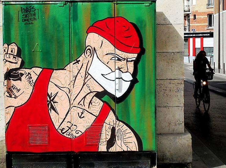Street art Quai de Loire