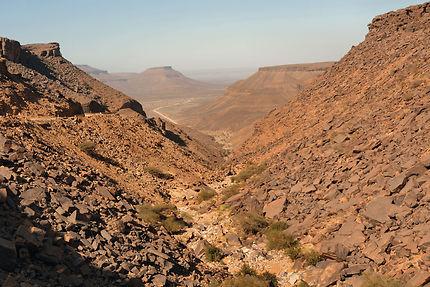 Depuis le col de Nouatil  (appelée route Ebnou)