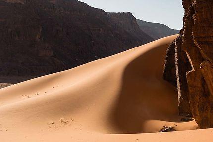 Moul N'Aga - Un ruisseau de sable