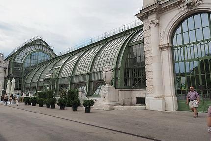 Palmenhaus du Burggarten à Vienne