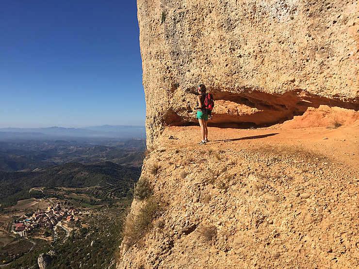 Ascension de la Sierra Major, sur les balcons du Priorat
