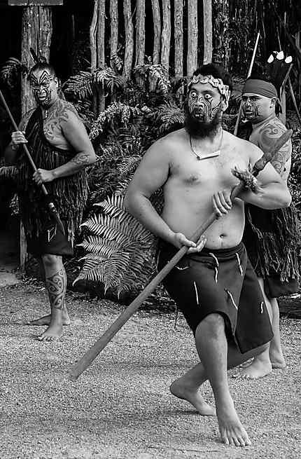 Maori à Rotorua