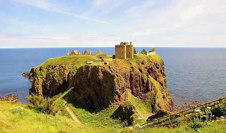 Dunnottar castle, Écosse