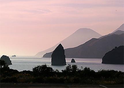 Ile de Vulcano en Sicile