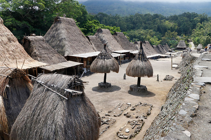 Les villages traditionnels ngada autour de Bajawa