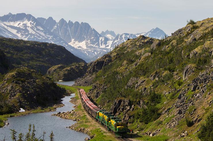 White Pass & Yukon Route - Le train de la ruée vers l'or