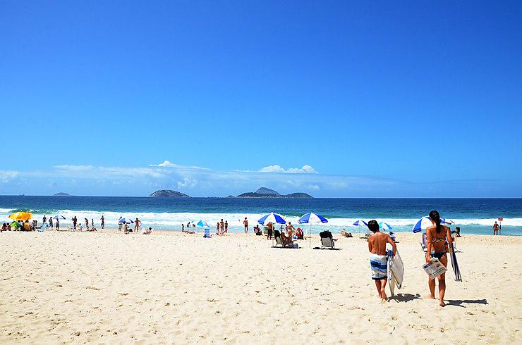 Mener la dolce vita à Ipanema et Copacabana