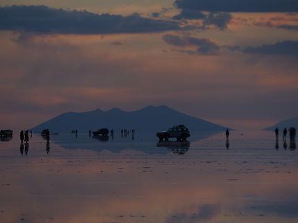 Le salar de Uyuni