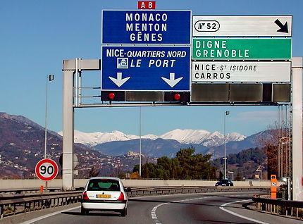 Nice : la route des Alpes