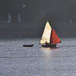 Voile sur la baie de Morlaix
