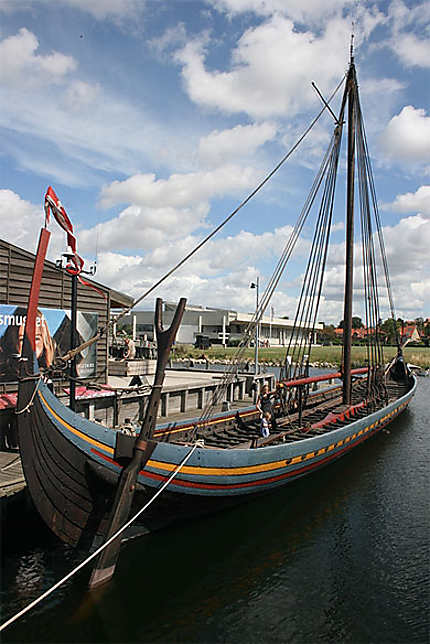 Un bateau viking
