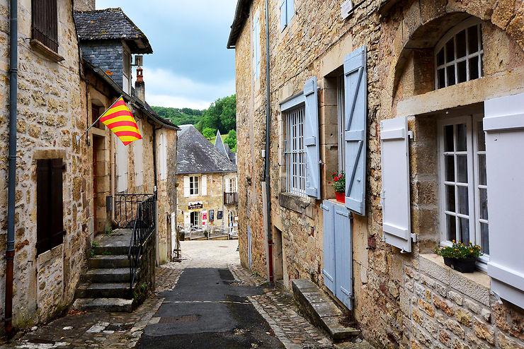 Turenne, l'un des « plus beaux villages de France »