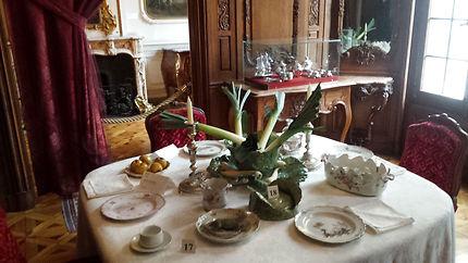 Salle à manger du musée Grobet Labadie