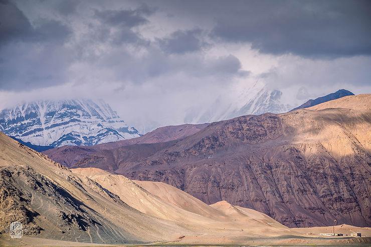 Montagnes près de la frontière chinoise, Kirghizistan