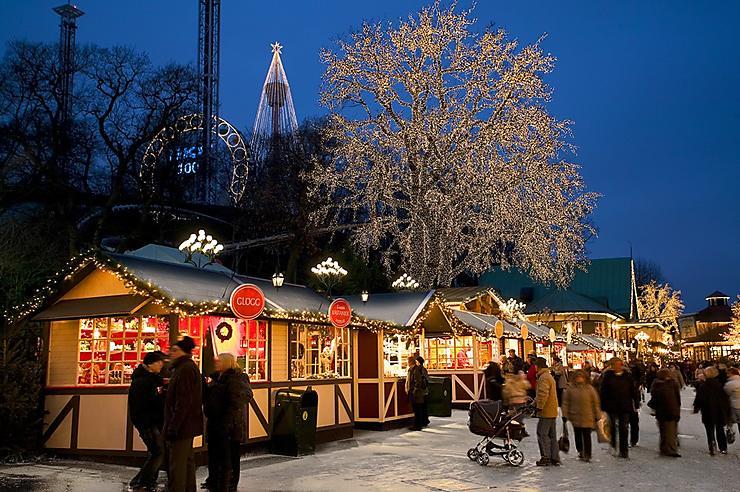 Flâner dans les marchés de Noël