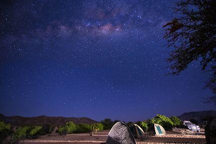 Nuit sous la voie lactée (Namibie)