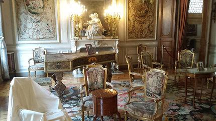 Salon de musique au musée Grobet Labadie
