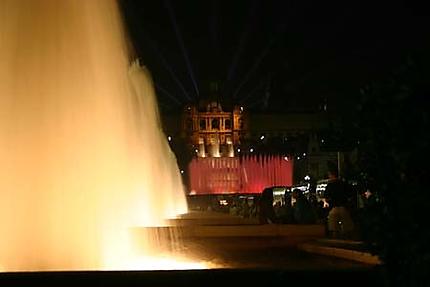 Son et lumière de Montjuïc