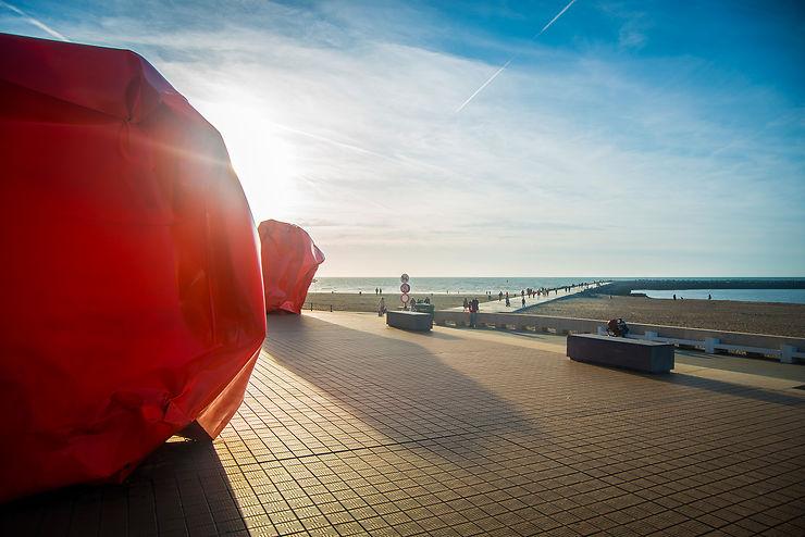 Ostende, la « reine » des plages belges