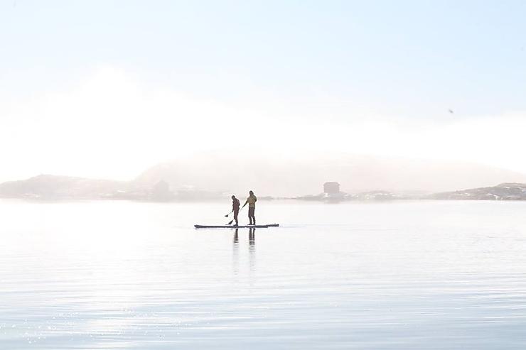 Faire du paddle dans la province de Bohuslän