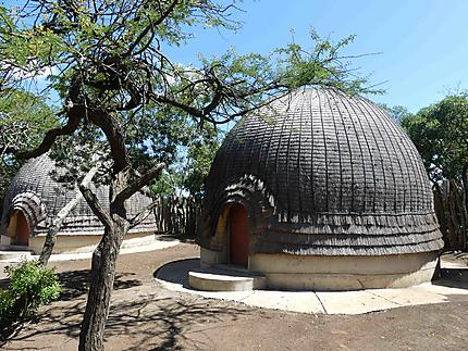 Maisons du village zoulou - Zulu Nyala