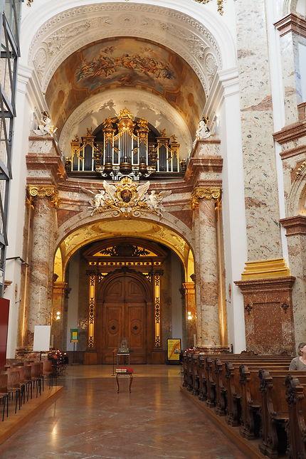 Intérieur de Karlskirsche