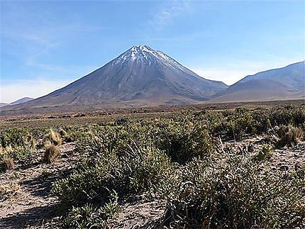 Majestueux volcan Licancabur