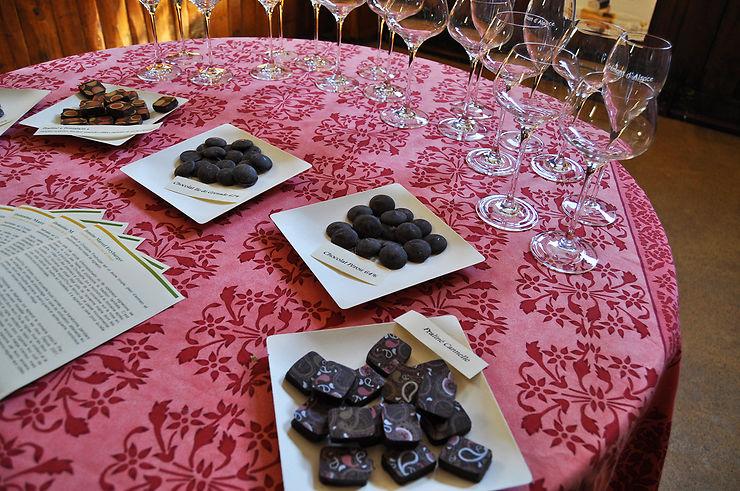 Chocolat et vins d'Alsace : un mariage d'amour