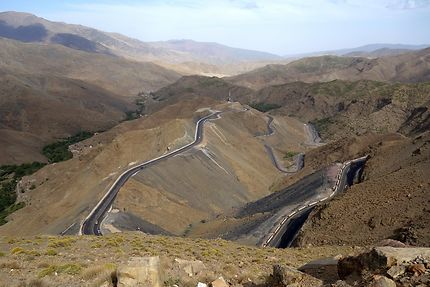 Haut Atlas au Maroc, route