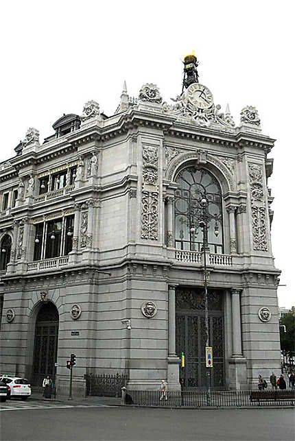 Immeuble à l'entrée d'Alcala