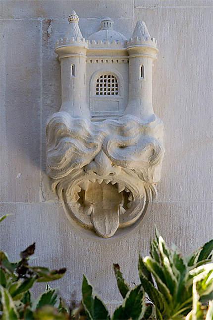 Sintra - Palais de Regaleira - Chapelle - Détail