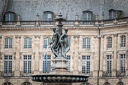 Bordeaux - Fontaine des 3 Grâces