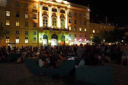 Museums Quartier, Museumsplatz