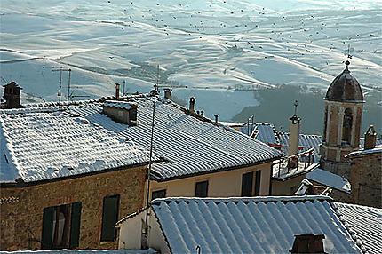 Toscane sous la neige