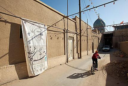Rue de la vieille ville de Kashan