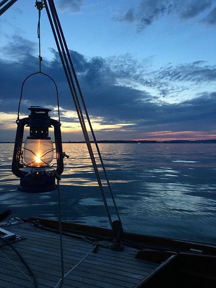 Coucher de soleil au lac de Constance