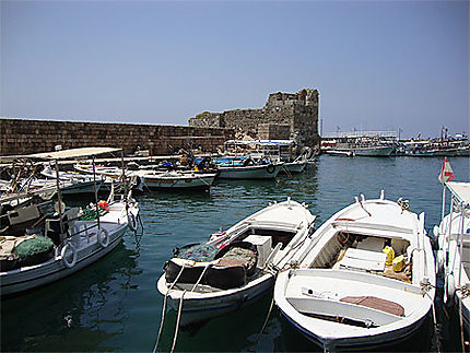 Le vieux port de Byblos