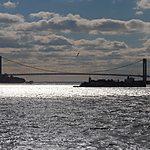 Brookyn Bridge depuis le ferry pour Staten Island
