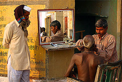 Ambiance sur les ghats de Varanasi