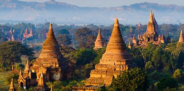 Terre dorée du Myanmar - 8 jours