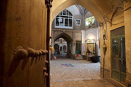 Bazaar de Kashan
