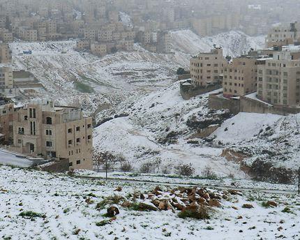 Amman sous la neige