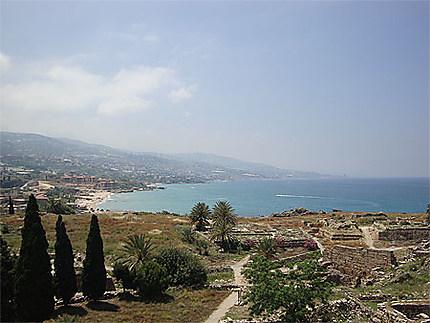 Vue de la baie de Byblos