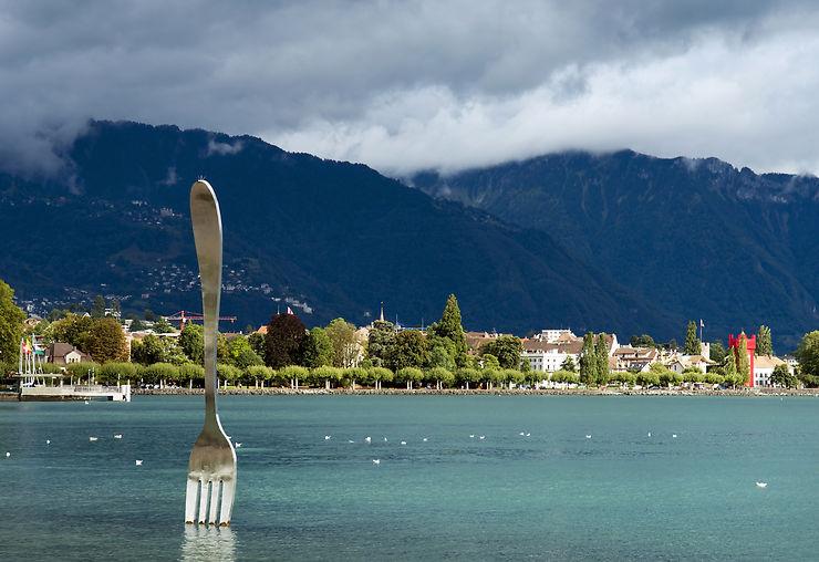 Ceci n'est pas une fourchette… - Vevey, Suisse
