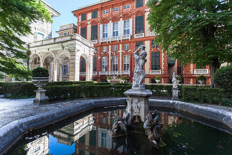 La Strada Nuova et ses musées : l'une des plus belles rues d'Europe