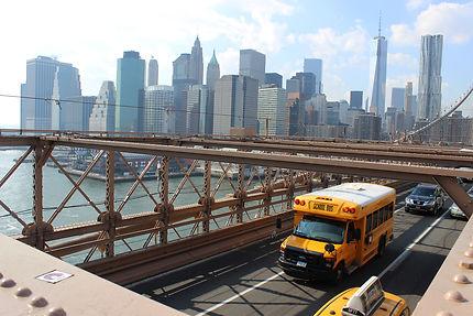 La City vue du Pont de Brooklyn